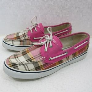 Sperry Canvas Casual Dress Top-Sider Deck Shoe 9.5